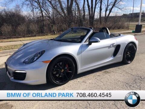 2015 Porsche Boxster for sale at BMW OF ORLAND PARK in Orland Park IL