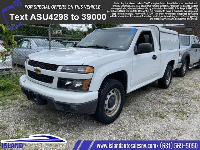 2012 Chevrolet Colorado for sale at Island Auto Sales in East Patchogue NY