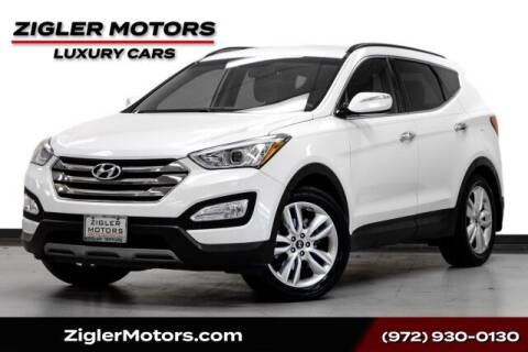 2014 Hyundai Santa Fe Sport for sale at Zigler Motors in Addison TX