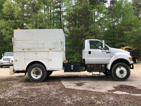 2003 Ford F-750 Super Duty for sale at M & W MOTOR COMPANY in Hope AR