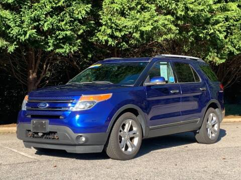 2013 Ford Explorer for sale at GR Motor Company in Garner NC