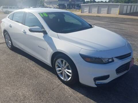 2018 Chevrolet Malibu for sale at Cooley Auto Sales in North Liberty IA