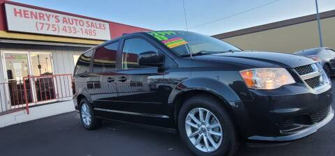 2013 Dodge Grand Caravan for sale at Henry's Autosales, LLC in Reno NV