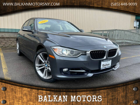 2013 BMW 3 Series for sale at BALKAN MOTORS in East Rochester NY