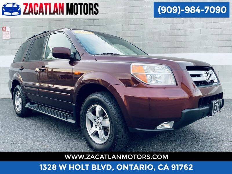 2007 Honda Pilot for sale at Ontario Auto Square in Ontario CA