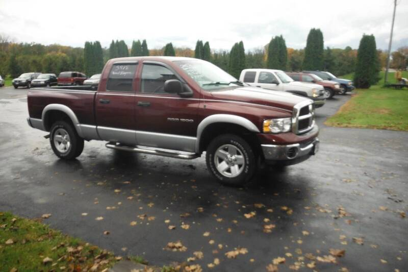 2003 Dodge Ram Pickup 1500 for sale at Vicki Brouwer Autos Inc. in North Rose NY