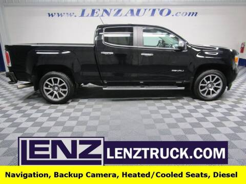 2018 GMC Canyon for sale at LENZ TRUCK CENTER in Fond Du Lac WI