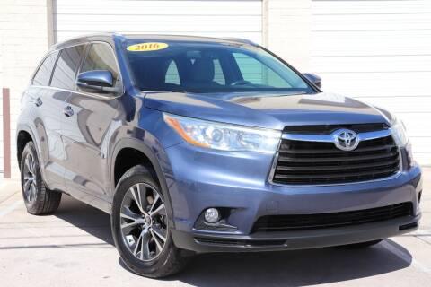 2016 Toyota Highlander for sale at MG Motors in Tucson AZ