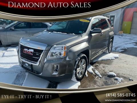 2012 GMC Terrain for sale at Diamond Auto Sales in Milwaukee WI