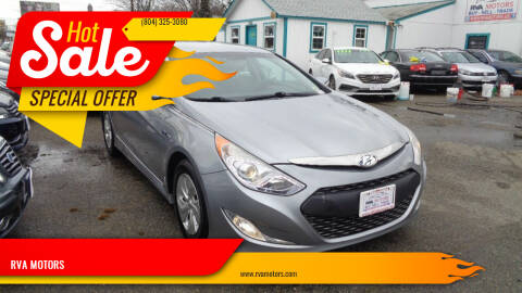 2014 Hyundai Sonata Hybrid for sale at RVA MOTORS in Richmond VA