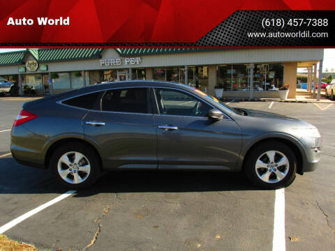 2010 Honda Accord Crosstour for sale at Auto World in Carbondale IL