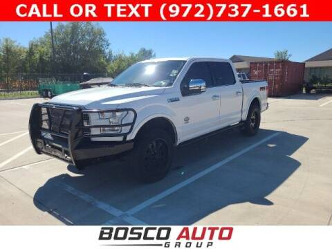 2015 Ford F-150 for sale at Bosco Auto Group in Flower Mound TX