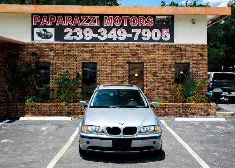 2005 BMW 3 Series for sale at Paparazzi Motors in North Fort Myers FL