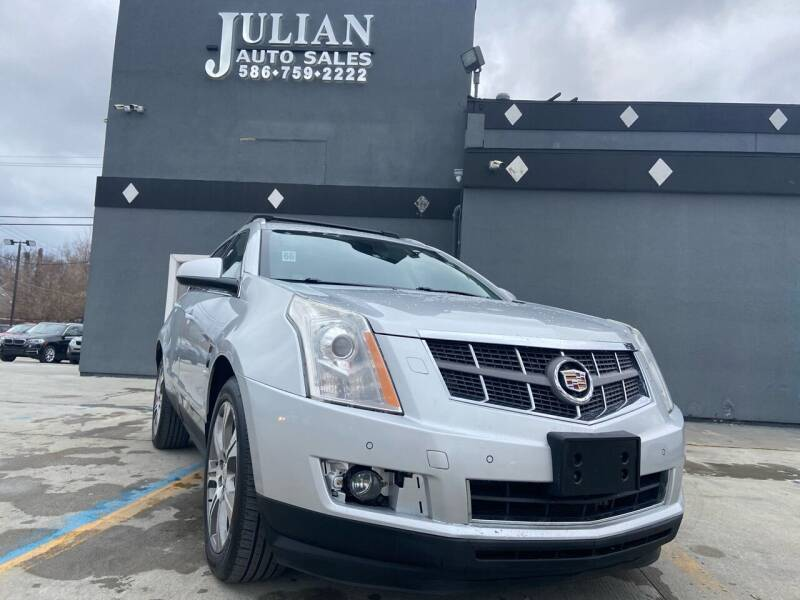 2012 Cadillac SRX for sale at Julian Auto Sales, Inc. in Warren MI
