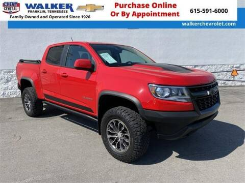 2019 Chevrolet Colorado for sale at WALKER CHEVROLET in Franklin TN