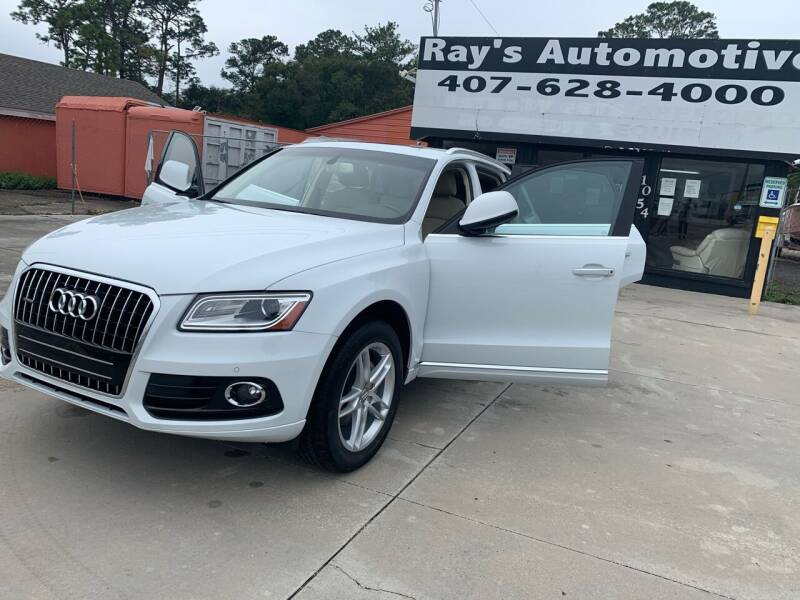 2016 Audi Q5 for sale at RAYS AUTOMOTIVE SALES & REPAIR INC in Longwood FL
