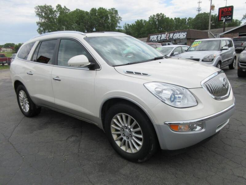 2011 Buick Enclave for sale at Fox River Motors, Inc in Green Bay WI