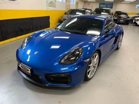 2015 Porsche Cayman for sale at Newton Automotive and Sales in Newton MA