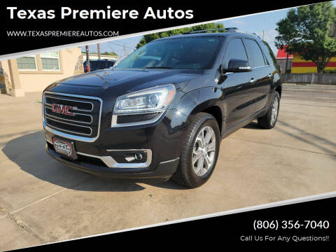 2013 GMC Acadia for sale at Texas Premiere Autos in Amarillo TX