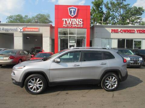 2018 Jeep Cherokee for sale at Twins Auto Sales Inc in Detroit MI