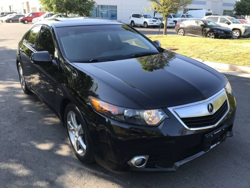 2013 Acura TSX for sale at Dotcom Auto in Chantilly VA