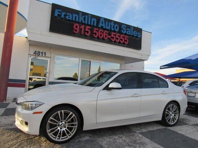 2012 BMW 3 Series for sale at Franklin Auto Sales in El Paso TX