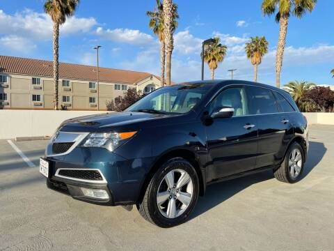 2011 Acura MDX for sale at OPTED MOTORS in Santa Clara CA