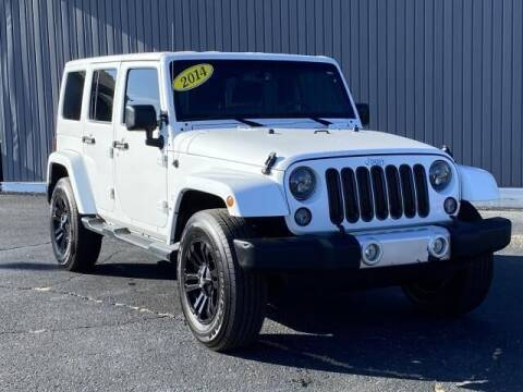 2014 Jeep Wrangler Unlimited for sale at Bankruptcy Auto Loans Now - powered by Semaj in Brighton MI