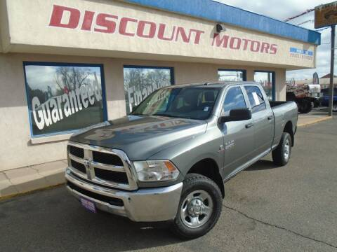2013 RAM Ram Pickup 2500 for sale at Discount Motors in Pueblo CO