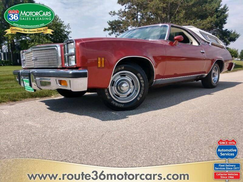 1976 GMC SPRINT for sale at ROUTE 36 MOTORCARS in Dublin OH