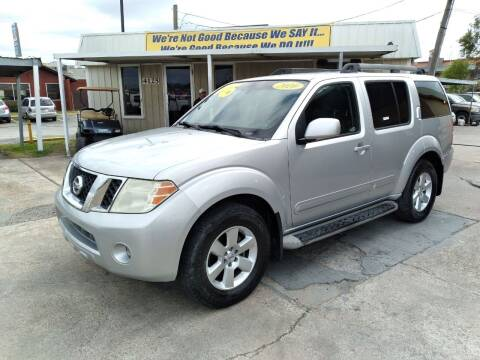 2010 Nissan Pathfinder for sale at Taylor Trading Co in Beaumont TX