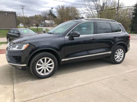 2015 Volkswagen Touareg for sale at Dussault Auto Sales in Saint Albans VT