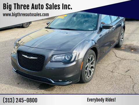 2017 Chrysler 300 for sale at Big Three Auto Sales Inc. in Detroit MI