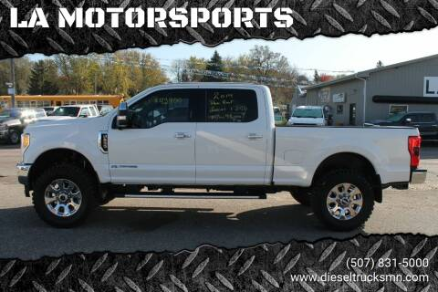 2017 Ford F-250 Super Duty for sale at LA MOTORSPORTS in Windom MN