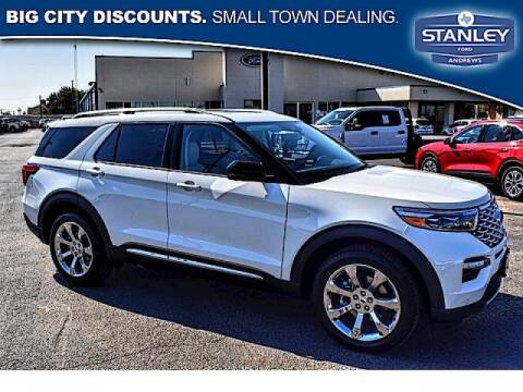 2020 Ford Explorer for sale at STANLEY FORD ANDREWS in Andrews TX