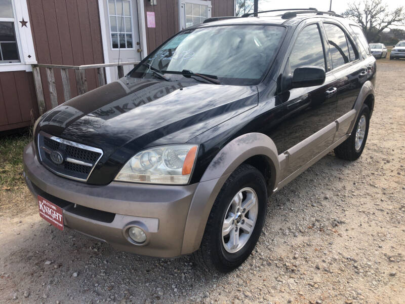2004 Kia Sorento for sale at Knight Motor Company in Bryan TX