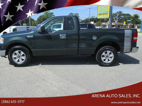 2004 Ford F-150 for sale at ARENA AUTO SALES,  INC. in Holly Hill FL
