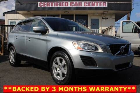2011 Volvo XC60 for sale at CERTIFIED CAR CENTER in Fairfax VA