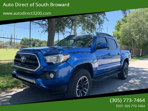 2016 Toyota Tacoma for sale at Auto Direct of South Broward in Miramar FL