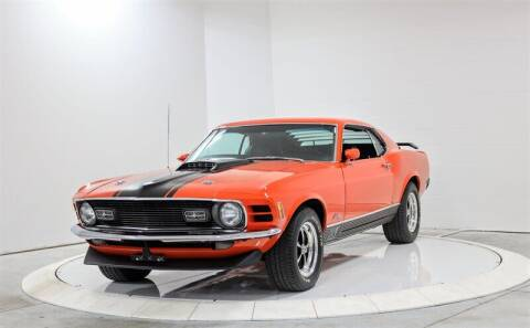 1970 Ford Mustang for sale at Mershon's World Of Cars Inc in Springfield OH