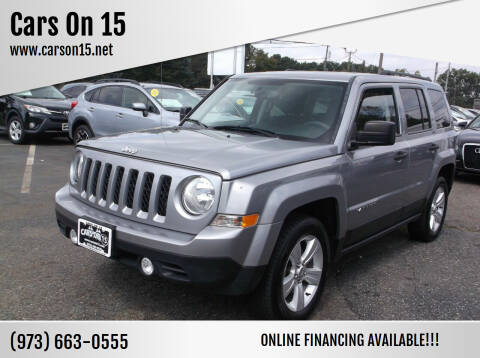 2016 Jeep Patriot for sale at Cars On 15 in Lake Hopatcong NJ