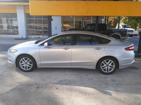 2014 Ford Fusion for sale at PIRATE AUTO SALES in Greenville NC