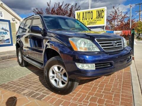 2006 Lexus GX 470 for sale at M AUTO, INC in Millcreek UT