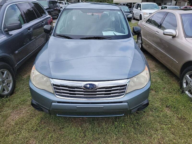 2010 Subaru Forester for sale at Wally's Cars ,LLC. in Morehead City NC