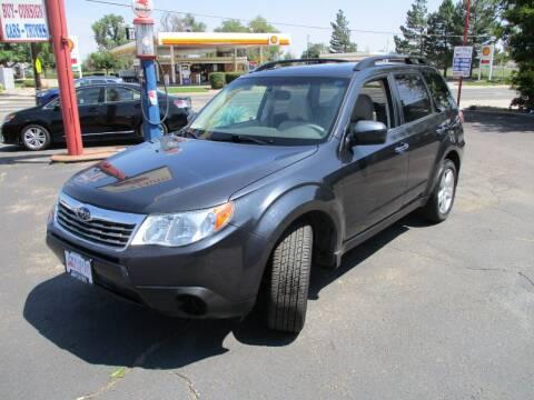 2010 Subaru Forester for sale at Premier Auto in Wheat Ridge CO
