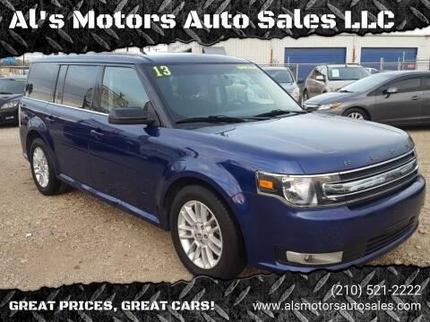 2013 Ford Flex for sale at Al's Motors Auto Sales LLC in San Antonio TX