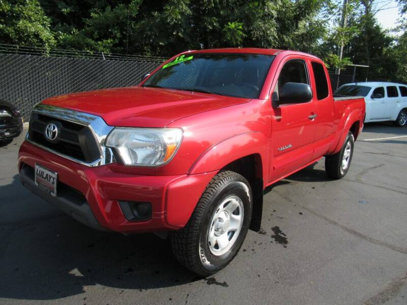 2012 Toyota Tacoma for sale at LULAY'S CAR CONNECTION in Salem OR