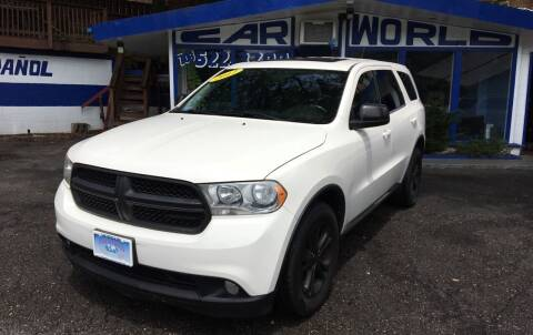 2012 Dodge Durango for sale at Car World Inc in Arlington VA