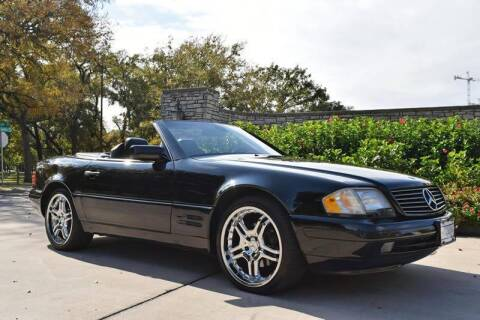 1998 Mercedes-Benz SL-Class for sale at European Motor Cars LTD in Fort Worth TX