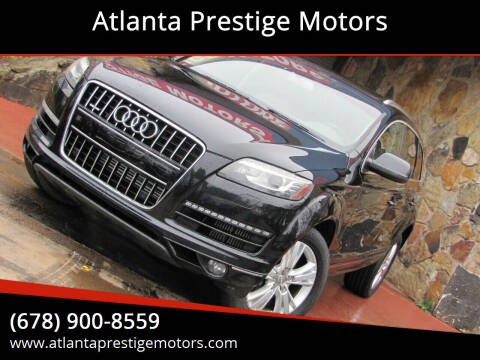 2010 Audi Q7 for sale at Atlanta Prestige Motors in Decatur GA